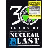 Various Artists - 30 Years Of Nuclear Blast (4CD+DVD, 2017) DVD OBAL