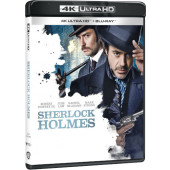 Film/Akční - Sherlock Holmes (2BD, UHD+BD)