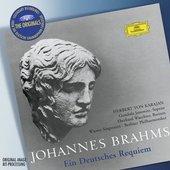 Brahms, Johannes - BRAHMS Ein deutsches Requiem / Karajan