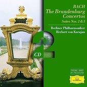 Berlínští filharmonici - Braniborské koncerty č.1-6 /Karajan