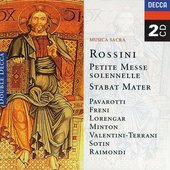 Rossini, Gioacchino - Rossini Musica Sacra Pavarotti/Freni/Lorengar/Mint