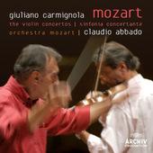 Wolfgang Amadeus Mozart - Concertos For Violin And Orchestra / Sinfonia Concertante CARMIGNOLA