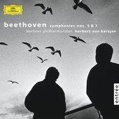 Beethoven, Ludwig van - BEETHOVEN Symphonien No. 5 + 7 Karajan