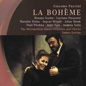 Puccini, Giacomo - PUCCINI La Bohème Levine DVD-VIDEO
