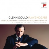 Wolfgang Amadeus Mozart - Glenn Gould plays Mozart: Piano Sonatas, Fantasias, Piano Concerto, No. 24 (5CD, 2012)