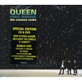 Queen + Paul Rodgers - Cosmos Rocks  (CD+DVD)