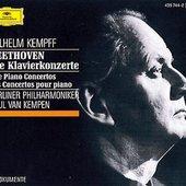 Beethoven, Ludwig van - BEETHOVEN Klavierkonz. 1-5 Kempff/Kempen
