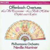 Offenbach, Jacques - OFFENBACH Overtures / Marriner