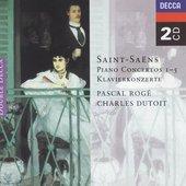 Saint-Saëns, Camille - Saint-Saëns Piano Concertos 1 - 5 Pascal Rogé