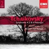 Herbert von Karajan - Tchaikovsky: Symphonies 4, 5 & 6 'Pathtique'