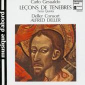 Deller Consort / Alfred Deller - Gesualdo: Leçons De Ténèbres (Feria Quinta)