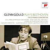 Ludwig van Beethoven - Glenn Gould plays Beethoven: The 5 Piano Concertos (3CD, 2012)