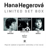 "Hana Hegerová - Limited Set Box (2CD+7""+DVD Naděje)"