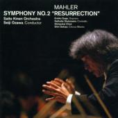 Gustav Mahler / Seiji Ozawa - Symphony No. 2: Resurrection / Symfonie Č. 2: Vzkříšení (2CD, Edice 2001)