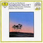 Beethoven, Ludwig van - Symfonie Č. 2 & 7 / Symphonies Nos. 2 & 7 (Edice 1987)