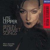 Ute Lemper - Ute Lemper Berlin Cabaret Songs