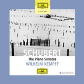 Schubert, Franz - SCHUBERT The Piano Sonatas Kempff