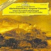 Beethoven, Ludwig van - BEETHOVEN Klavierkonzert 5 Michelangeli