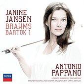 Janine Jansen - Brahms, Bartók: Koncerty pro housle