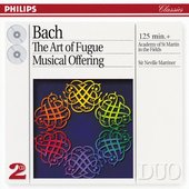 Marriner, Sir Neville - J.S. Bach The Art of Fugue, BWV 1080 Academy of St