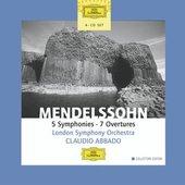 Mendelssohn Bartholdy, Felix - MENDELSSOHN 5 Symphonies / Abbado