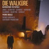 Boulez, Pierre - WAGNER Die Walküre Boulez DVD-VIDEO