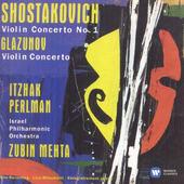 Itzhak Perlman - Shostakovich: Violin Concerto No. 1 - Glazunov: Violin Concerto