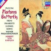 Puccini, Giacomo - PUCCINI Madama Butterfly / Freni,Pavarotti,Karajan