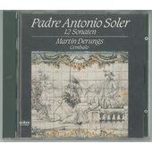 Padre Antonio Soler - 12 Sonaten für Cembalo / 12 Sonát pro cembalo (1989)