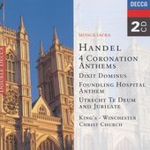 Handel, Georg Friedrich - Handel Musica sacra Choir of Kings College, Cambr