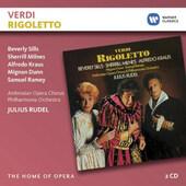 Giuseppe Verdi / Julius Rudel - Rigoletto (Edice The Home Of Opera 2018)