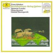 Schubert, Franz - SCHUBERT Streichquintett Melos Quartett