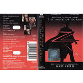 Soundtrack / James Horner - Mask Of Zorro / Zorro: Tajemná tvář (Music From The Motion Picture) /Kazeta, 1998