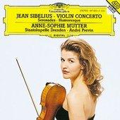 Anne-Sophie Mutter - SIBELIUS Violin Concerto / Mutter, Previn