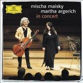 Martha Argerich - MISCHA MAISKY - MARTHA ARGERICH In Concert