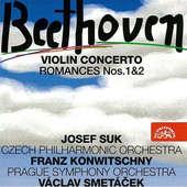 Ludwig van Beethoven/Josef Suk - Violin Concerto/Romances Nos. 1&2