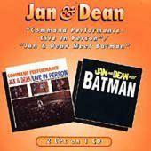 Jan & Dean - Command Performance-Live In Person / Jan & Dean Meet Batman (Edice 1996)