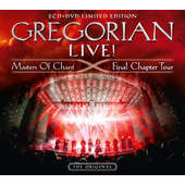 Gregorian - Live! Masters Of Chant & Final Chapter Tour/Limited/2CD+DVD (2016) CD OBAL