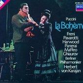 Puccini, Giacomo - PUCCINI La Bohème / Freni, Pavarotti, Karajan