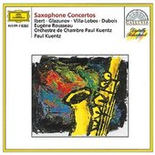 Ibert - Saxophonkonzerte Rousseau/Kuentz