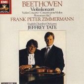 Ludwig Van Beethoven / Frank Peter Zimmermann - Houslový Koncert, Romance (Edice 1988)