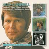 Glen Campbell - Glen Travis Campbell / I Knew Jesus (Before He...) / I Remember Hank Williams (2CD, 2013)