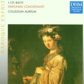 Johann Christian Bach / Franz Josef Majer - Sinfoniae Concertante (Edice 1997)