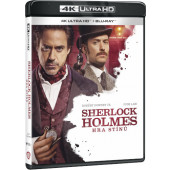 Film/Akční - Sherlock Holmes: Hra stínů (2BD, UHD+BD)
