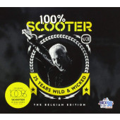 Scooter - 100% Scooter (25 Years Wild & Wicked) /The Belgian Edition 2018, Digipack