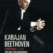 Beethoven, Ludwig van - BEETHOVEN Symphonien 1-3 Karajan DVD-VID