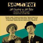 Semafor / Jiří Suchý, Jiří Šlitr - Komplet 9 her z let 1959-1964 (15CD, 2019)