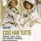Mozart, Wolfgang Amadeus - MOZART Così fan tutte Harnoncourt DVD-VI