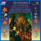 William Byrd - Byrd: Early Latin Church Music - Propers For Epiphany