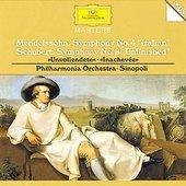 Giuseppe Sinopoli - MENDELSSOHN, SCHUBERT Symphonies / Sinopoli